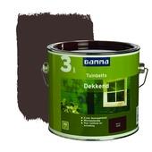 GAMMA tuinbeits dekkend bruin 2,5 liter