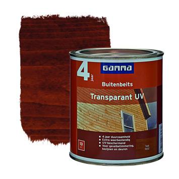 GAMMA buitenbeits transparant UV teak 750 ml