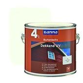 GAMMA buitenbeits dekkend UV RAL 9010 gebroken wit 2,5 liter
