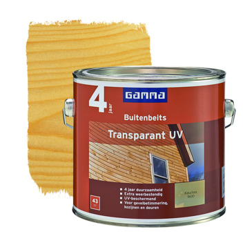 GAMMA buitenbeits transparant UV kleurloos 2,5 liter