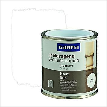 GAMMA Extra Dekkend grondverf sneldrogend wit 250 ml