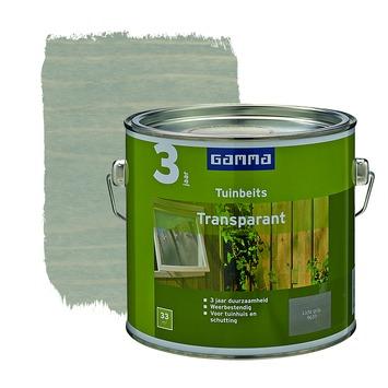 GAMMA tuinbeits transparant lichtgrijs 2,5 liter