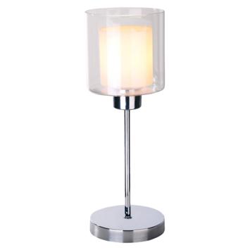 Tafellamp Dion transparant