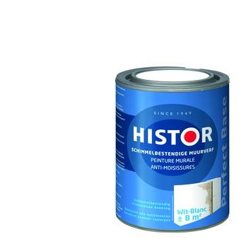 GAMMA   Histor Perfect Base muurverf schimmelbestendig wit 1 liter ...