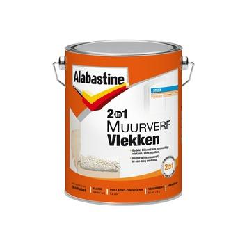 Alabastine muurverf vlekken 2in1 wit mat 5 liter