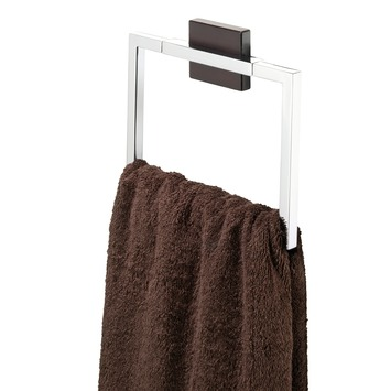 Tiger Zenna handdoekring chroom/wenge