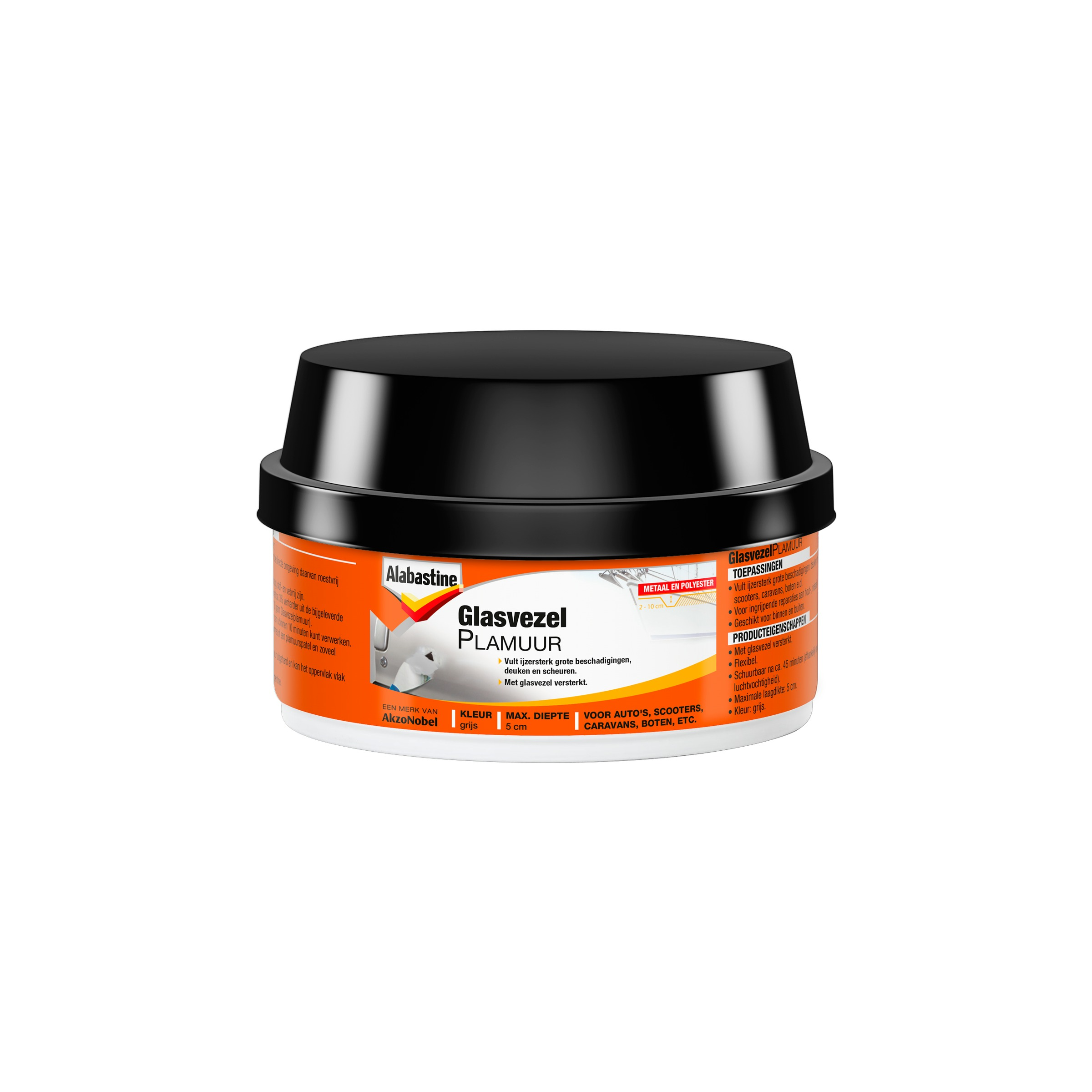 Alabastine glasvezelplamuur 250 g