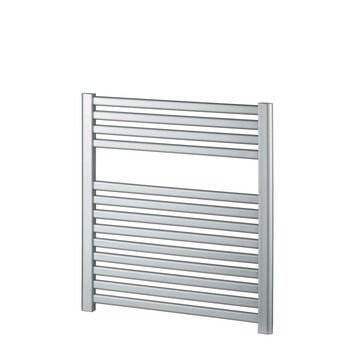 Haceka designradiator Sinai grijs / zilver 367 Watt 69x59 cm
