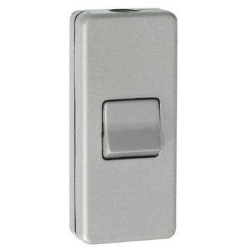 GAMMA snoerschakelaar aluminium