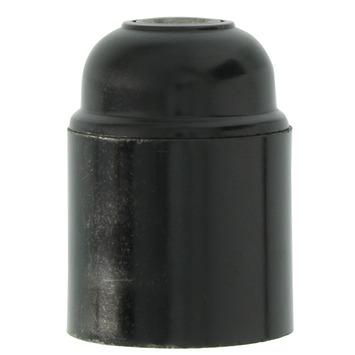 GAMMA lamphouder glad E27 zwart