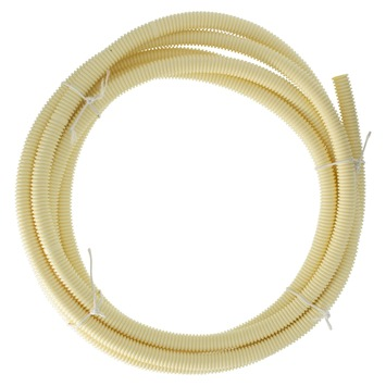 "Attema elektrabuis PVC flexibel crème 5/8"" 16mm 5 meter"