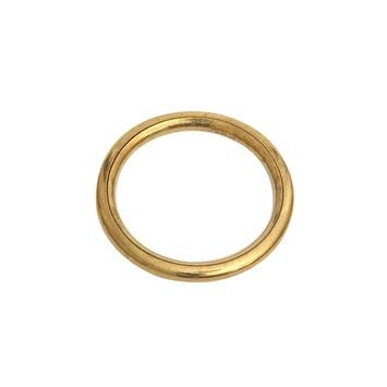 Intensions Practical extra ring 13 mm messing 24 stuks