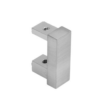 Intensions Practical extra eindkaps designrail RVS 2 stuks