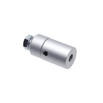 Intensions Modern steun roede 20 mm aluminium 3 cm 2 stuks