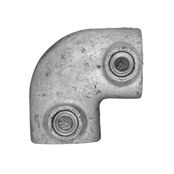 Steigerbuis kniestuk ijzer Ø 27 mm