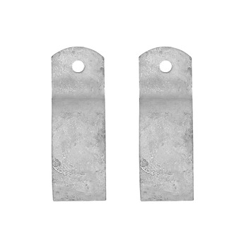 Steigerbuis kapbeugel Ø 42 mm 2 stuks