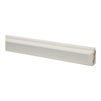 CanDo vensterbanklijst MDF rond wit gegrond 26x28mm 260 cm