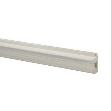 CanDo vensterbanklijst MDF rustiek wit gegrond 26x28mm 260 cm