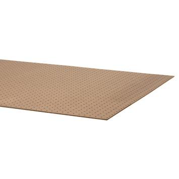 Hardboard bedplaat 200x122 cm 5,5 mm