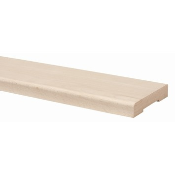 Stofdorpel beuken 95x11,7x 2,2 cm