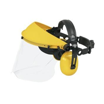 McCulloch gezichts/gehoorbescherming zwart/geel