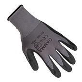 GAMMA werkhandschoen antislip latex grijs XL