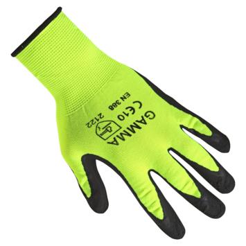 werkhandschoen antislip latex geel L