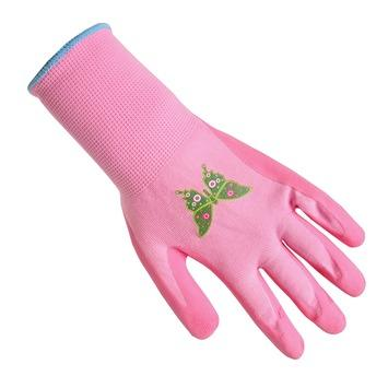 GAMMA werkhandschoen antislip latex rose M