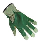GAMMA tuinwerkhandschoen professional leer groen XL