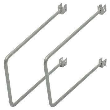 Duraline Storage flexibele steunset mat zilver 20 cm