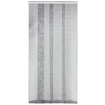 Bruynzeel lamellenhordeur 300 serie wit 95x220 cm