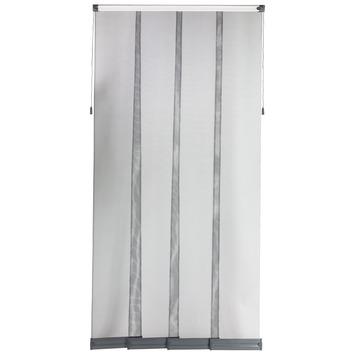 Bruynzeel lamellenhordeur 700 serie grijs 95x235 cm