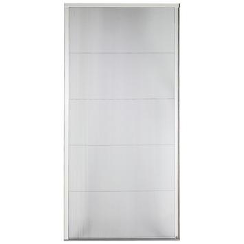 Bruynzeel plissé hordeur 500 serie grijs 98x199 cm