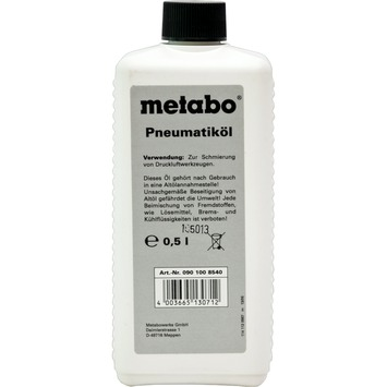 Metabo olie voor perslucht-gereedschap 0,5 liter