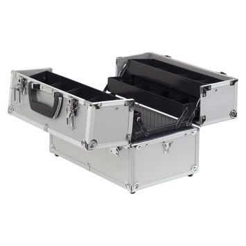 Erro koffer aluminium uitklapbaar zilver