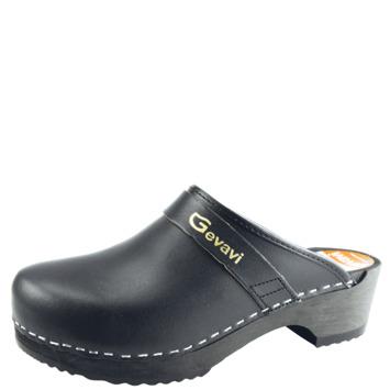 Gevavi open schoenklomp 9200 maat 45 zwart