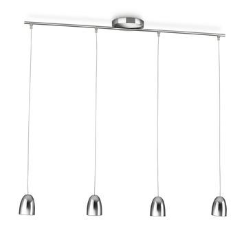 Philips myLiving hanglamp Wolga chroom 4-lichts