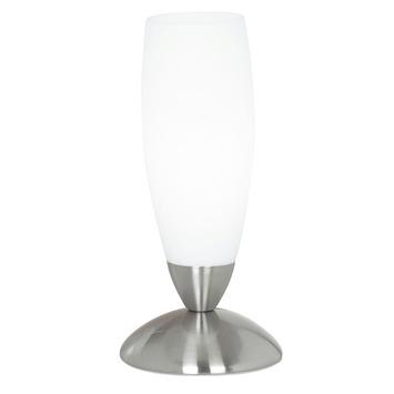 EGLO tafellamp Slim nikkelmat