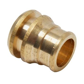 GAMMA knelkoppeling messing verloopset 15x12 mm
