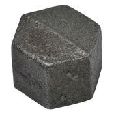 """GAMMA malleable koppeling dop zwart (binnendraad) 1/2""""x1/2"""""""
