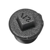 "GAMMA malleable koppeling stop zwart (buitendraad) 1/2""x1/2"""