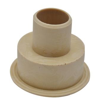 Valpijpsok hooghangend reservoir rubber 32x32mm
