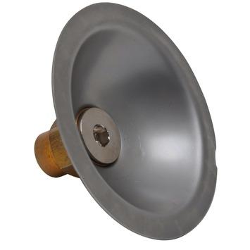 """GAMMA gevelkom chroom (soldeer x binnendraad) 15 mm x 1/2"""""""