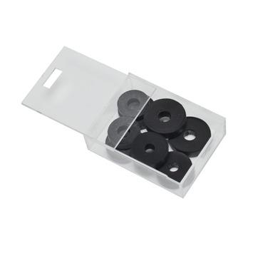 Kraanschijfjes rubber 9 stuks