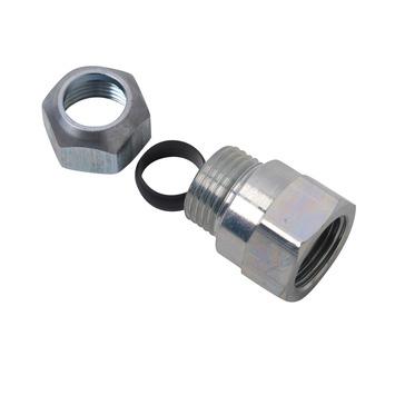 GAMMA CV koppeling schroefbus (knel x binnendraad) 15mm x 1/2 staal verzinkt