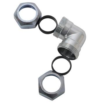 GAMMA CV koppeling knie 22x22 mm staal verzinkt
