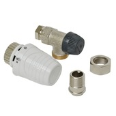 "Honeywell thermostatische radiatorkraan haaks wit 1/2""x15 mm"