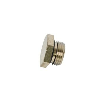 """GAMMA draadplug met o-ring chroom (buitendraad) 1/2"""""""