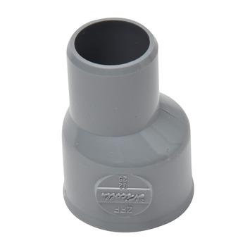 GAMMA reparatiestuk PVC grijs 32x25 mm