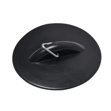 GAMMA plugstop met flap zwart 45,5 mm